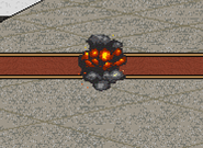 Bomb Explosion Early
