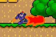 SSF Captain Falcon down attack