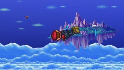 Mario midair jump