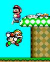 Chargin' Chuck in A Super Mario World