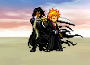 Ichigo and Zangetsu on Victory