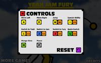 Yam Jam Fury - Controls