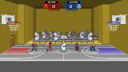 Sandbag Basketball Stage