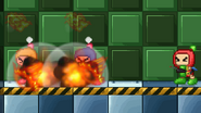 Bomberman uses Bomb Detonate