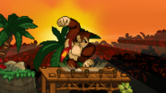 Spinning Kong Start