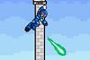 SSF Mega Man X down aerial