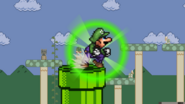 Luigi Green Missile charge