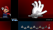 SSF2 - Master Hand appear