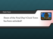 Clock Town unlocked in SSF2 demo 8