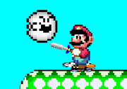 Boo in A Super Mario World