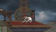 SSF2 Ryu SideTilt
