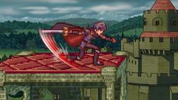 Dancing blade