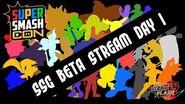 SSF2 Beta Super Smash Con Livestream Day 1