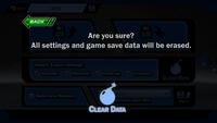 SSF2 - Clear data