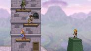 3 on 1 heroes on Hyrule Castle
