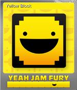 Card - Yellow Block (Foil)