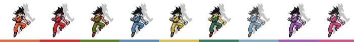 Goku palette