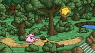 Jigglypuff attacking Starfy