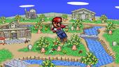 SSF2 Mario DAir