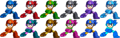 SSF2 Mega Man Costumes