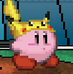 SSF2 Pikachu Hat Kirby (Early 2)