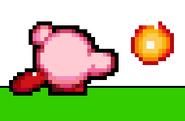 Fire Kirby - Fireball