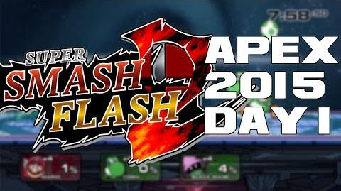 Super Smash Flash 2 Beta Apex 2015 Day 1