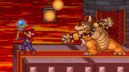 Mario stealing the Beam Rod