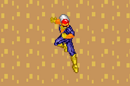 SSF Captain Falcon down aerial