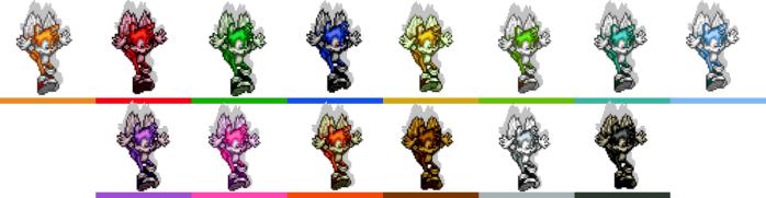 Tails palette