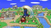 SSF2 Mario UAir