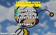 Yeah Jam Fury - Menu