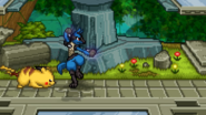 SSF2 Lucario Taunting