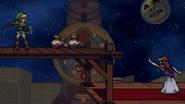 Link & Zelda in Clock Town