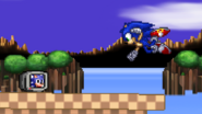 Sonic and his 1-up