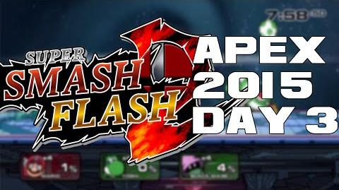 Super Smash Flash 2 Beta Apex 2015 Day 3