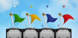 UME Flags Sky