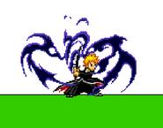 Kuroi Getsuga (Down special)