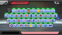 Item switch in Beta