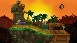 SSF2 Jungle Hijinx