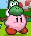 SSF2 Yoshi Hat Kirby (Early)