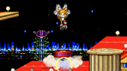 Tails jumps the Spring