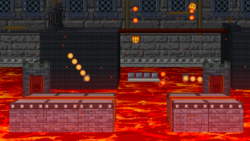 SSF2 Bowser's Castle