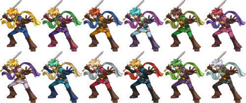 SSF2 Isaac Costumes