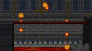 The Lava Bubbles in Bowser's Castle
