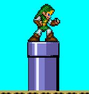 Warp Pipe in A Super Mario World