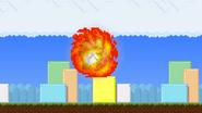 Flaming Jump Punch 5