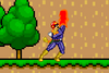 SSF Captain Falcon up attack