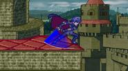 Dancing blade blue