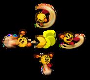 Pac-man aerials